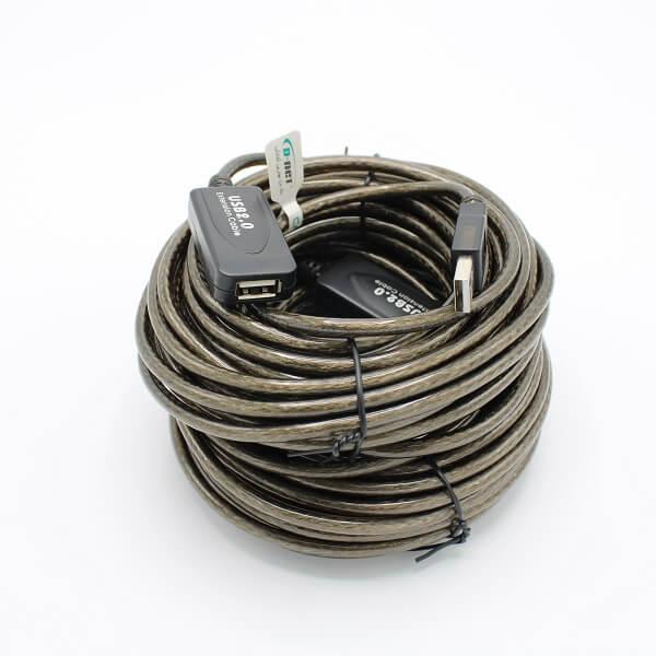 کابل افزایش طول USB بافر دار ( تقویت کننده ) دی نت 10 متری